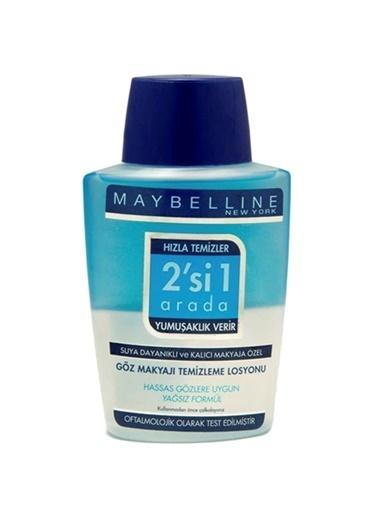 Maybelline Maybelline Göz Makyajı Temizleme Losyonu Çift Etkili 125 Ml Renkli